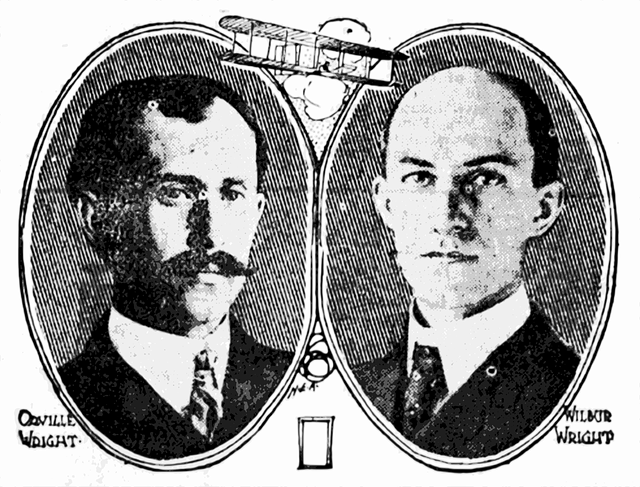 Wilbur and Orville Wright, first in Aviation, Kitty Hawk, Aviation Triad North Carolina