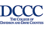Davidson County Community College LOGO_white