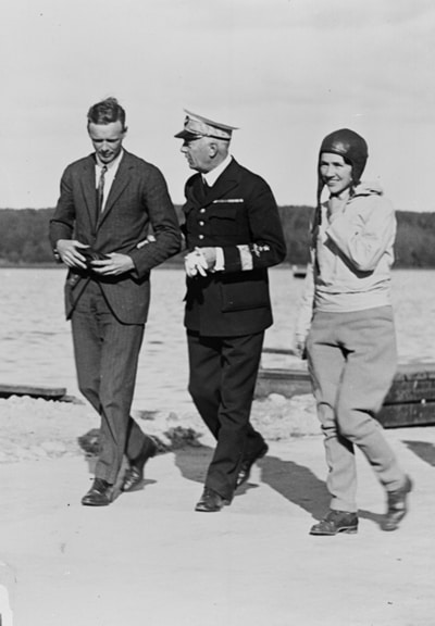 Anne Morrow Lindbergh and her husband Charles made aviation a family business.