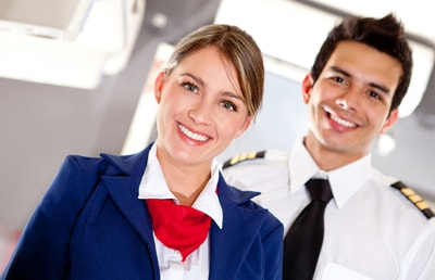 Flight attendants have crucial jobs in that they help calm people in the cabin. Customer service is their main priority.
